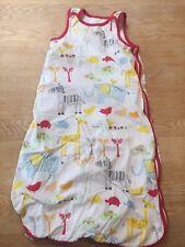 Mothercare Baby Sleeping Bag Sleepsack. Animals Design, 0-6 months, 1.0 Tog