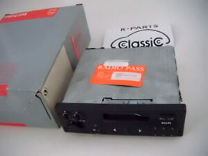 NOS Philips SC201 C Opel Cassetten Autoradio 90er NEU + Codekarte +OVP