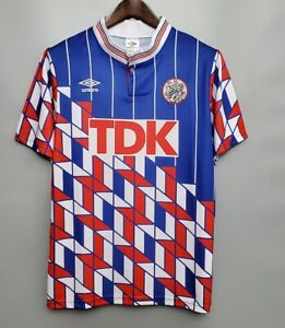 Ajax 1990 Away Retro Football Jersey vintage Shirt