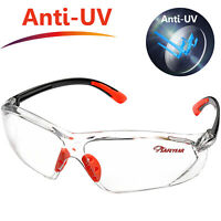 SAFEYEAR Safety Glasses Work Anti-fog Clear Side Shield Eye Protect ANSI Z87.1