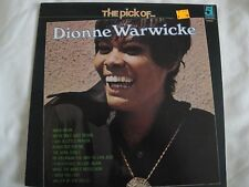 THE PICK OF DIONNE WARWICKE VINYL LP WALK ON BY, I SAY A LITTLE PRAYER, 1979 EX