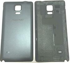 Charcoal Black Battery Back Cover For Samsung Galaxy Note 4 Genuine Part