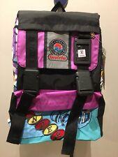 Zaino INVICTA UNDER ROUND doppia Tasca VINTAGE NUOVO Back Pack  School INVICTA