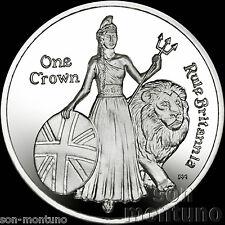275th Anniversary Composition of Rule Britannia 2015 Ascension Island CuNi COIN