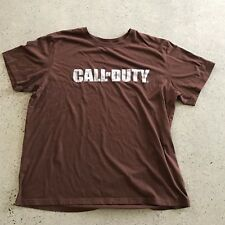 Call of Duty Men's XXL Super Soft Brown t Shirt