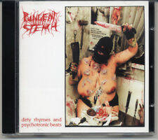 """Pungent Stench """"Dirty Rhymes And Psychotronic Beats"""" 1993, CD"""