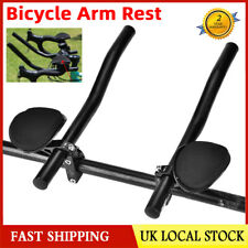 Mountain Bike Road Bicycle Alloy Triathlon Aero Rest Handle Bar Clip on Tri Bars