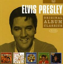 Original Album Classics - Elvis Presley (2011, CD NEUF)5 DISC SET