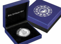2013 $1 Australia Year of the Snake Proof Silver Coin .999 Silver Australian RAM