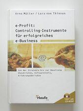 Arno Müller Lars von Thienen e-Profit Controlling Instrumente e-Business inkl CD