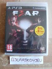 ELDORADODUJEU >>> F3AR FEAR 3 Pour PLAYSTATION 3 PS3 NEUF VF
