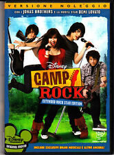 CAMP ROCK - EXTENDED ROCK STAR EDITION - DVD (USATO EX RENTAL)