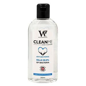 Strong Hand cleanser 70% Gel 250ml - UK Made Hand Gel