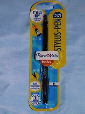 PAPERMATE INKJOY 2 IN 1 STYLUS BALLPOINT PEN FOR TABLET PHONE IPHONE QUALITY