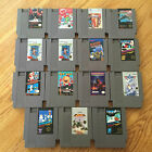 NES Games Nintendo Entertainment System Mario, Punch Out, Pacman, Castlevania