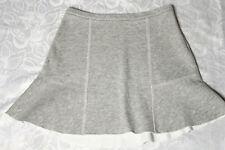 ZARA Rock Gr. S/M silber-grau kurz/mini Stiefel Shirt Rock