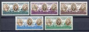 29696) Jordan 1964 MNH New King Hussein Pope Paul VI & Patriarch Athenag 5v