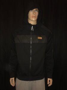 Puma Men's Slipstream Track Jacket Black Size Full Zip Hooded Size XL MSRP$90
