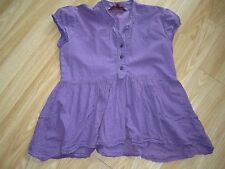 Baker Girl by Ted Baker tunic top in purple with dark purple spots - 11 - 12yrs