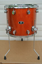 "PDP by DW X7 SERIES 16"" FLOOR TOM in ORANGE SPARKLE for YOUR DRUM SET! LOT #V437"