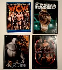 WWE and WCW DVD's