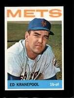 1964 TOPPS #566 ED KRANEPOOL NMMT METS *SBA4666