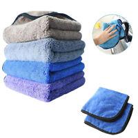 40cmx40cm Car Care 800gsm Super Thick Plush Microfiber Car Cleaning Cloths Towel