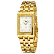 Raymond Weil Men's Tango Square Gold Stainless Steel Quartz Watch 5381.P00308