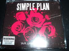 Simple Plan Your Love Is A Lie (Australia) CD Single