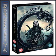THE LAST KINGDOM - COMPLETE SERIES 1 & 2  *** BRAND NEW DVD BOXSET***