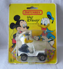 Matchbox- Walt Disney WD 6  Donald Duck - Police Jeep- Made in Hong Kong in Box