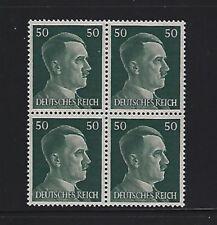 MNH  Adolph Hitler stamp block, 1941, PF50, Original Third Reich Germany Block