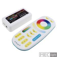 RGBW+CCT LED-Controller + Fernbedienung 2,4GHz Funk - Komplettset 12-24V / 5x 6A