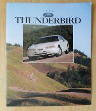 FORD THUNDERBIRD orig 1996 USA Mkt Sales Brochure Catalogue - LX Sport Option
