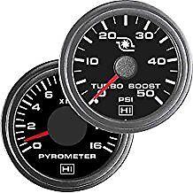 Hewitt Combo Universal Diesel Egt / Pyrometer & Boost Gauge - 2 Gauge Kit
