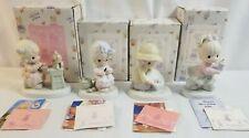 1994-1995 PRECIOUS MOMENTS Lot of 4 Collectors Club Figurines PM Lot 23