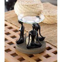 Oil Warmer/Oil Burner in Yoga Lotus Pose Design