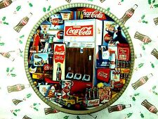 """THE ERAS OF COCA COLA 1960-1970"" COCA COLA PLATE ""DAVID LENCHO"" #97 #267260 VTG"