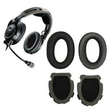 1Pair Soft Foam Ear Cushion Cover Earpads for Aviation Headset X A10 A20 Headset