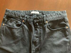 Pantalone Incotex, blu scuro, 31, nuovo.