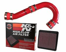 Fits 2016 Subaru Forester 2.5 SSD / K&N COLD AIR INTAKE (CAI) RED,all 2.5 Models