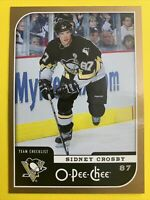 2006-07 OPC Team Checklist #694 Sidney Crosby Pittsburgh Penguins 2nd Year