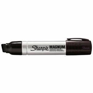 Sharpie Magnum Black (Sanford 44001) - 1 Each