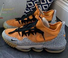 Nike Lebron XVI 16 Low Atmos Safari Basketball Trainers UK8 Worn Once