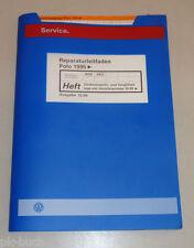 Werkstatthandbuch VW Polo 6N Direkteinspritz- Vorglühanlage Verteilerpumpe 1999