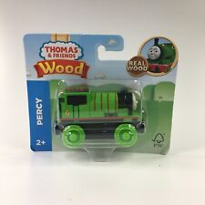 Thomas Friends Wood Wooden PERCY Train FULLY PAINTED Fisher Price GGG30 AGES 2+