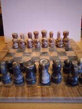 Repräsentatives Schachspiel aus Marmor ?? Schachbrett ca. 25x25