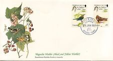 ENVELOPPE / BIRDS OF THE WORLD /  / FAUNE /  OISEAU / TURKS & CAICOS / 1985