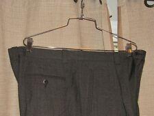 ZANELLA Robert dress pants gray wool 40 (measure 39 x 26) pleated cuffed EUC