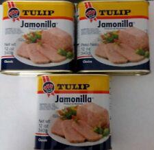 Jamonilla Tulip Luncheon Meat Spread Sandwich Spanish Cooking Food (3 Can) 12oz